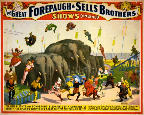 Flickr_-_…trialsanderrors_-_Terrific_flights_over_ponderous_elephants,_poster_for_Forepaugh_^_Sells_Brothers,_ca._1899