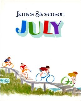 july by james stevenson cover image