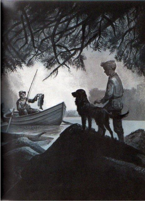 nic of the woods illustration2 lynd ward