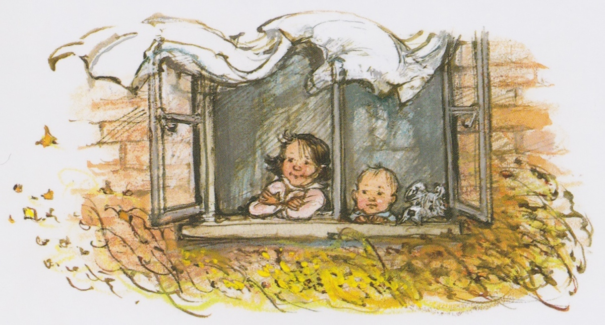 out and about illustration2 shirley hughes