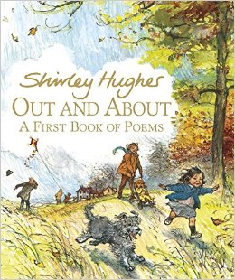 out and about shirley hughes cover image