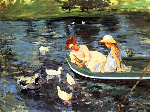 Summertime by Mary Cassatt