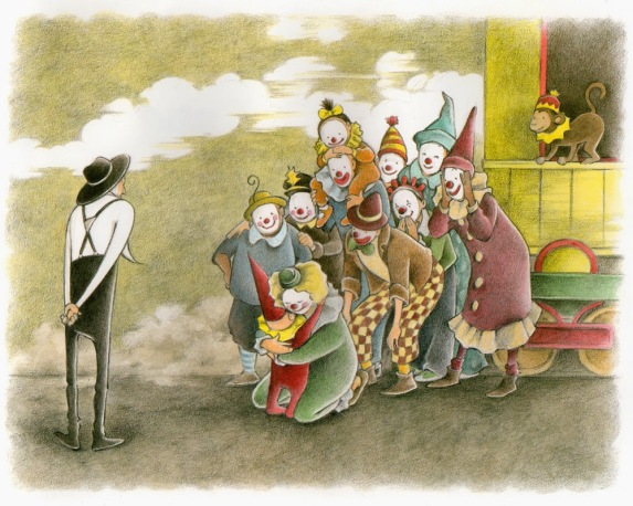 the farmer and the clown illustration2 marla frazee