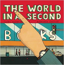 the world in a second cover image