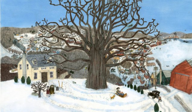 as an oak tree grows illustration g. brian karas