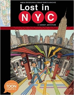 lost in nyc cover image