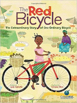 the red bicycle cover image