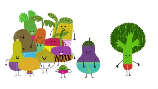 vegetables in underwear illustration jared chapman