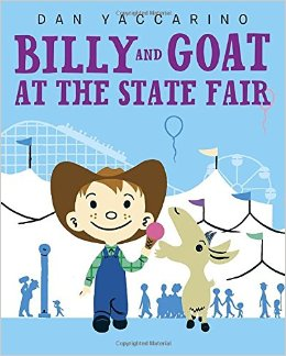 billy and goat at the state fair cover image