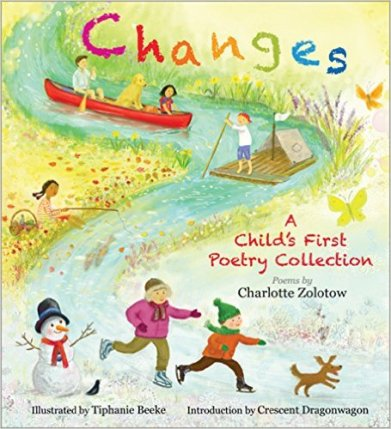 changes a child's first poetry collection cover image