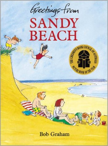 greetings from sandy beach cover image