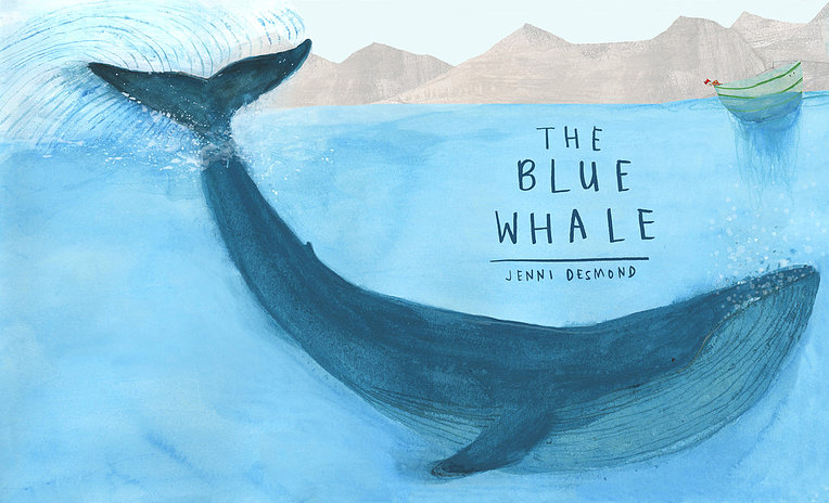 the blue whale cover image