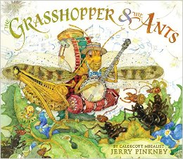 the grasshopper and the ants cover image