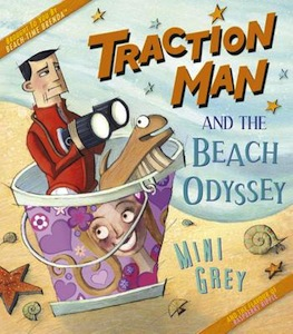 traction man and the beach odyssey cover image