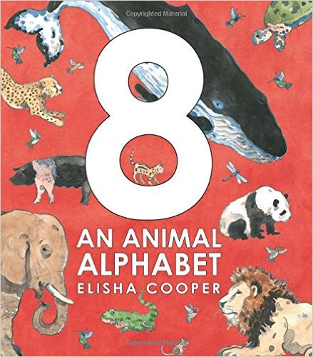 8 an animal alphabet cover image