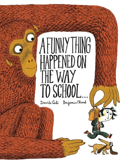 a funny thing happend on the way to school cover image