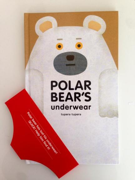 polar bear's underwear cover image