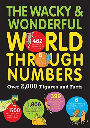 the wacky & wonderful world through numbers cover image