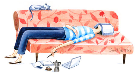 a book is a book illustration4 sarah wilkins