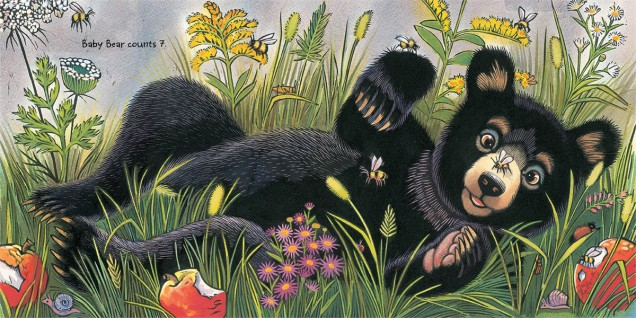 Baby Bear Counts One illustration2 Ashley Wolff