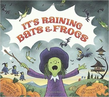 it's raining bats and frogs cover image