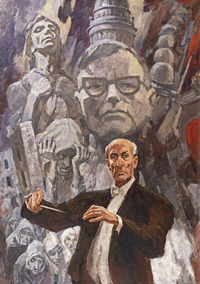 Lev A. Russov's The Leningrad Symphony Conducted by Yevgeny Mravinsky.
