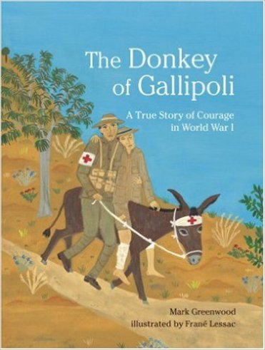 the donkey of gallipoli cover image