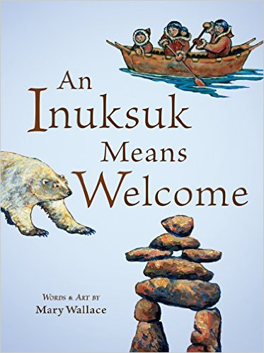 an inuksuk means welcome cover image