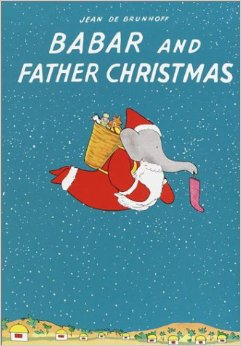 babar and father christmas cover image