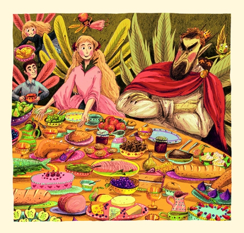imelda and the goblin king illustration briony may smith