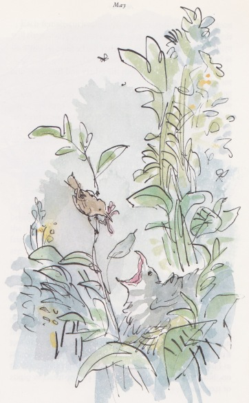 my year illustration quentin blake