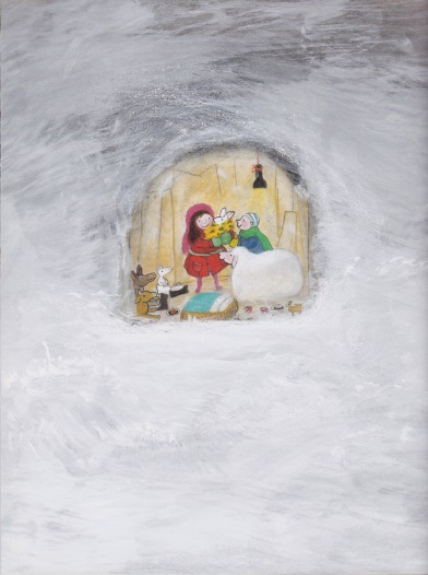 our very own christmas illustration marije tolman