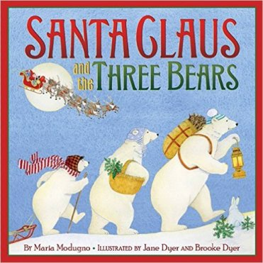 santa claus and the three bears cover image