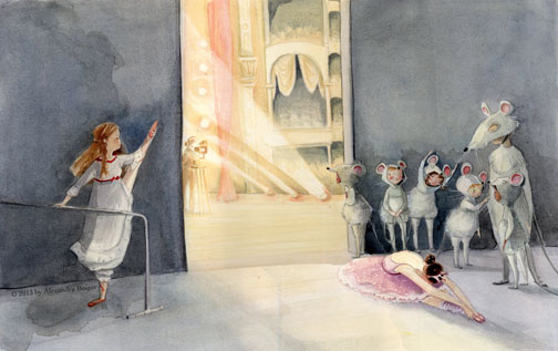 tallulah's nutcracker illustration2 alexandra boiger