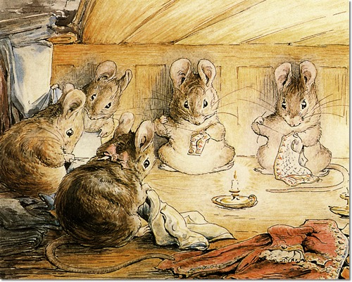 the tailor of gloucester illustration beatrix potter