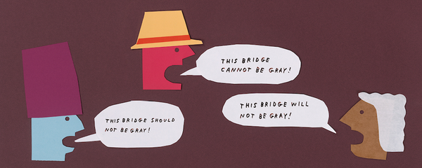 this bridge will not be gray illustration tucker nichols