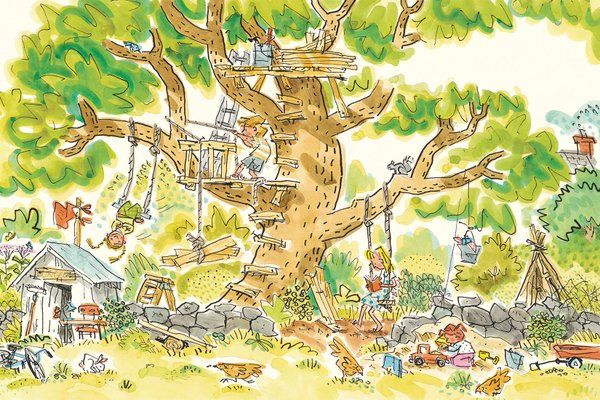 this is my home this is my school illustration jonathan bean