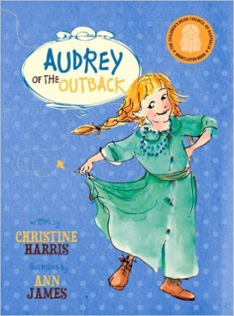 audrey of the outback cover image