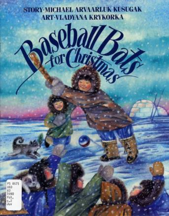 baseball bats for christmas cover image