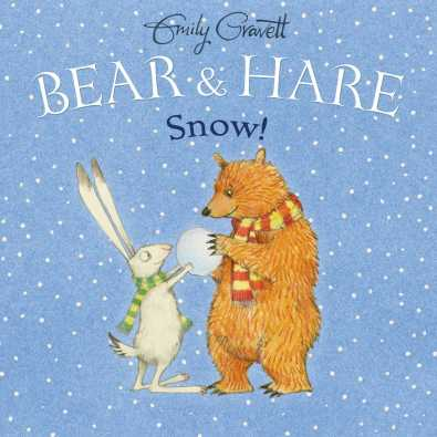 bear and hare snow cover image