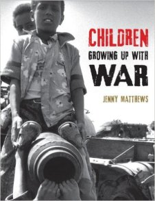 children growing up with war cover image