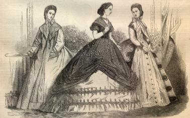 civil war era gowns