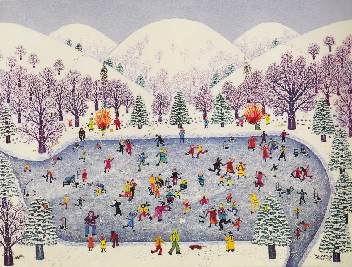 a winter place illustration2 mattie lou o'kelley