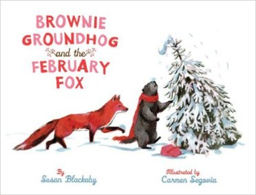 brownie groundhog and the february fox cover image