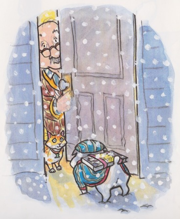 mr putter and tabby catch the cold illustration Arthur Howard