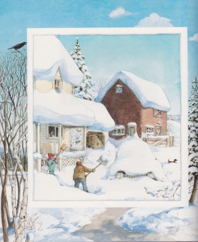 winter poems illustration1 trina schart hyman