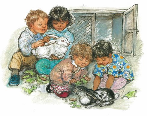 alfie wins a prize illustration shirley hughes