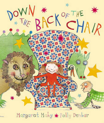 down the back of the chair cover image