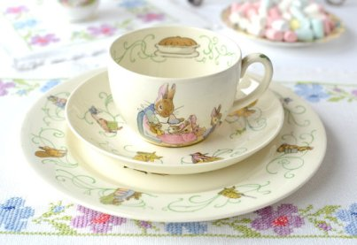 wedgewood peter rabbit tea set