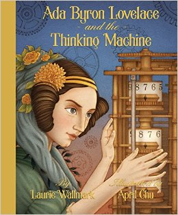ada byron lovelace and the thinking machine cover image